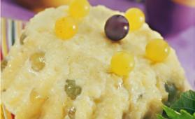 Gâteau de riz aux raisins pour 6 personnes
