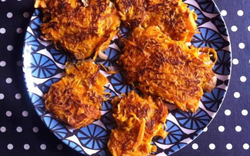 Recette galettes de patates douces économique > cuisine étudiant
