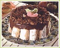 Recette charlotte au chocolat au sucre de canne