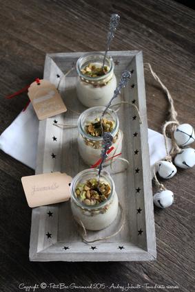 Recette de riz au lait d'amandes et pistaches torréfiées