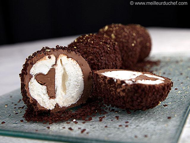 Boule meringuée au chocolat  fiche recette avec photos ...