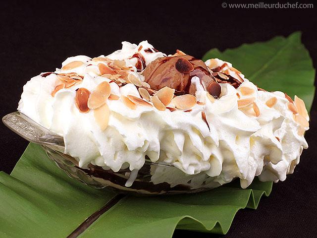 Banana split  la recette avec photos  meilleurduchef.com