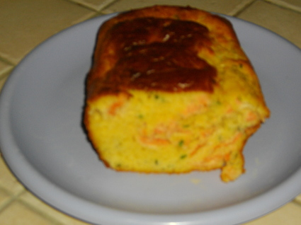 Recette de cake saumon-ciboulette