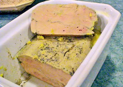 Recette terrine de foie gras (terrine, pâté)