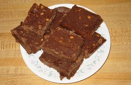 Recette de les brownies