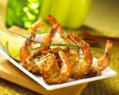 Recette tempura de crevettes à la noix de coco