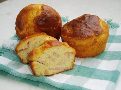 Recette de muffins au jambon et parmesan