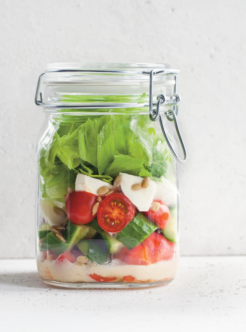 Salade en pot | ricardo