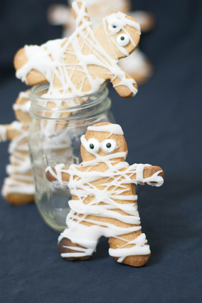 Recette de biscuits momies