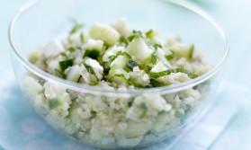 Taboulé de quinoa, concombre de france menthe et feta pour 4 ...