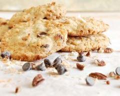 Recette cookies au chocolat à la noix de coco