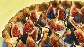 Tarte aux figues à la crème de figues pour 8 personnes