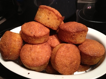 Recette de mini muffins au pralin