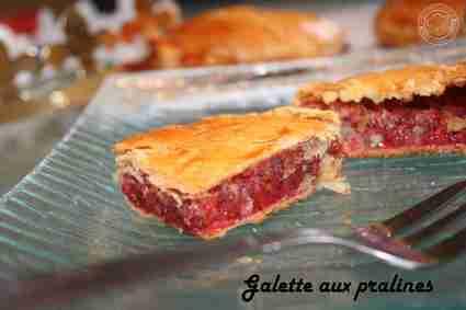 Recette de galette aux pralines