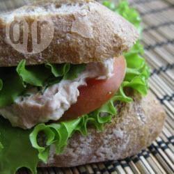 Recette sandwich au thon et à la tomate – toutes les recettes ...