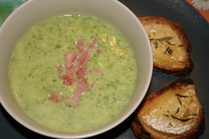 Recette de soupe gourmande au cresson