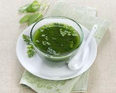 Recette soupe au persil frais