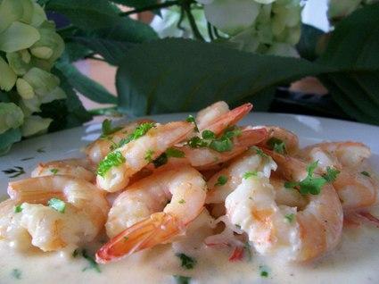 Recette de crevettes sauce persillée