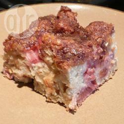 Recette délicieux gâteau à la rhubarbe – toutes les recettes ...