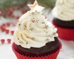 Recette cupcakes au chocolat avec glaçage à la vanille