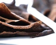 Recette pâte à crêpes au cacao