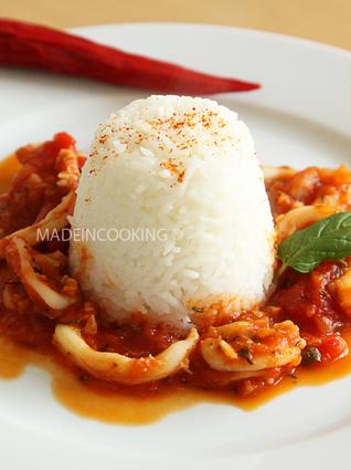Recette encornets à la sauce tomate provençale