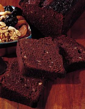 Pain d'épices au chocolat et aux fruits secs pour 4 personnes ...