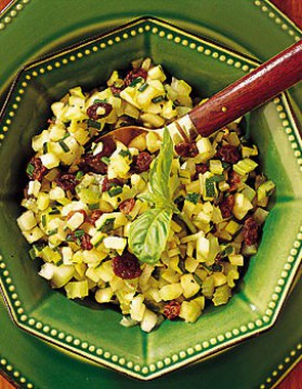 Salade de courgettes pour 4 personnes