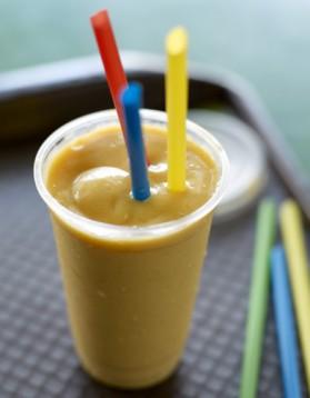 Smoothie lait de soja et mangue pour 4 personnes