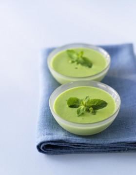 Soupe verte aux orties