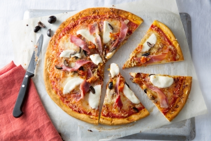 Recette de pizza regina facile et rapide