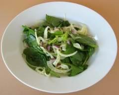Recette salade de fenouil et épinards