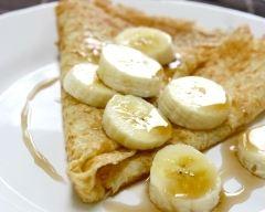 Recette crêpes aux bananes et sirop d'érable