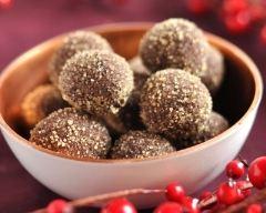 Truffes chocolat noir au piment | cuisine az