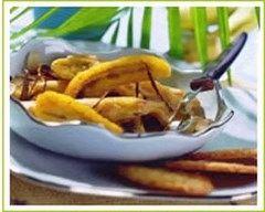 Recette banane flambée à la cannelle et aux amandes