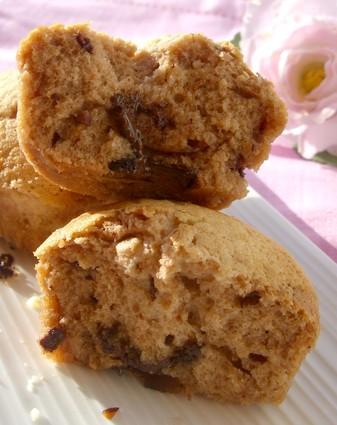Recette de muffins moelleux au chocolat praliné