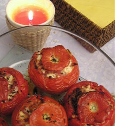 Recette de tomates farcies à la feta
