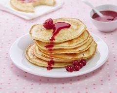 Recette pancakes au lait concentré sucré