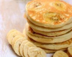 Recette pancakes aux bananes