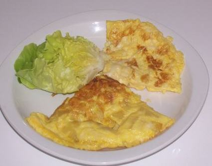 Recette omelettes en duo