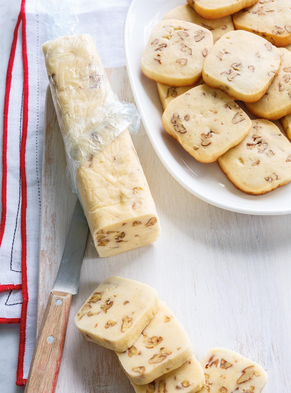 Biscuits congélo aux pacanes | ricardo