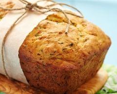 Recette pain de courgettes et surimi