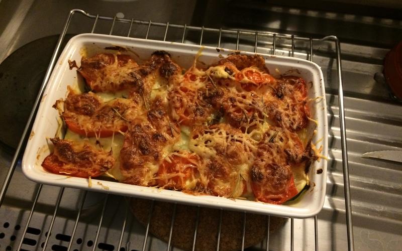 Recette gratin de courgette-tomate-mozzarella pas chère et simple ...