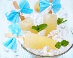 Recette glace à l'eau à la menthe