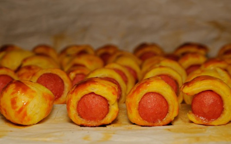 Recette roulés feuilletés aux knackis pas chère et simple > cuisine ...