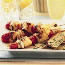 Recette brochettes de poulet à l'ananas – toutes les recettes ...