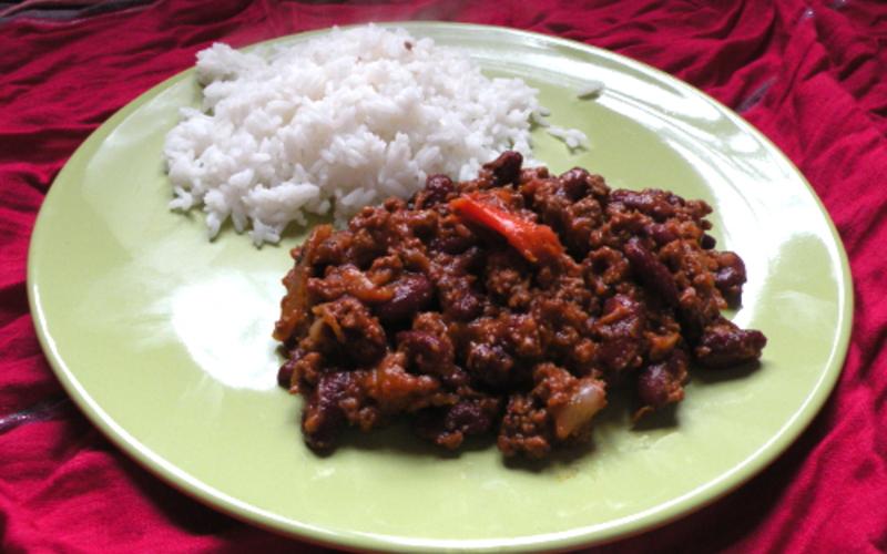 Recette chili con carne facile !! économique et simple > cuisine ...