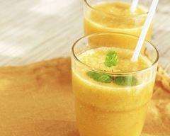 Recette milk shake orange et céréales du matin