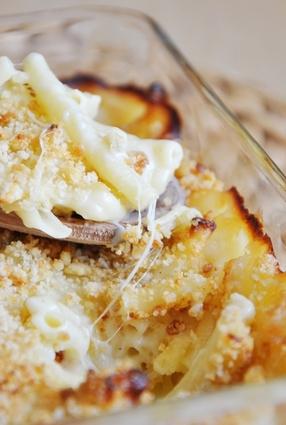 Recette de le gratin de macaronis de suzanne