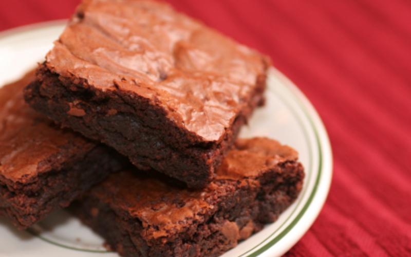 Recette brownie fondant pas chère et simple > cuisine étudiant